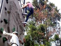 Climbing is a great activity to try out.