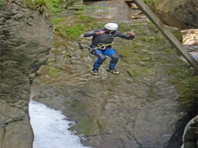Canyoning 4 Hours South Wales