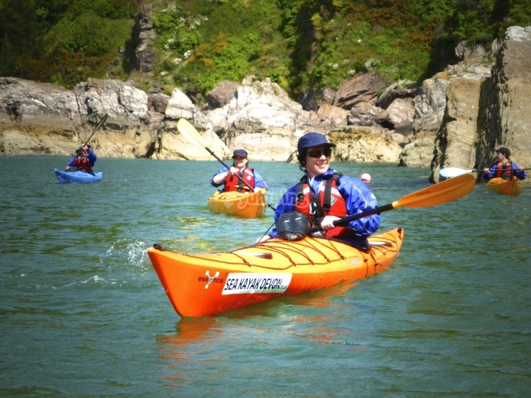 Kayaking in Devon
