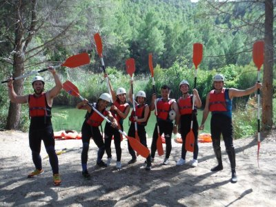 Guided canoeing route in Fuensanta 2 hours