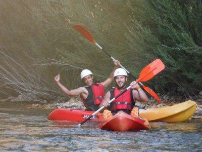 Kayak hire, Fuensanta reservoir, 1 h