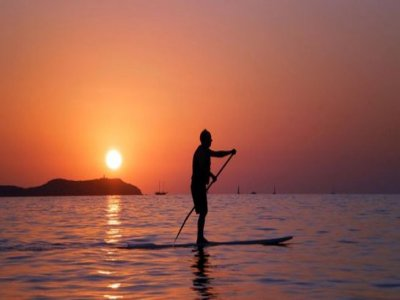 Paddle Surfing Course in Denia. 1 hour