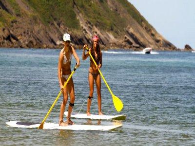 Paddle surfing equipment rental. Denia 1h