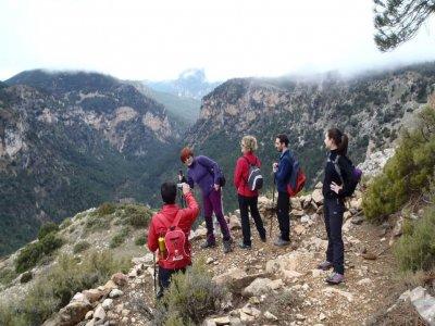 Hiking in Molata de los Almendros