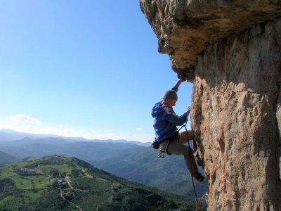 Half day climbing Sierra de Segura