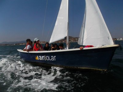 6-day water camp in Cartagena