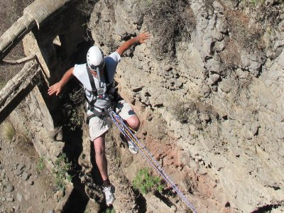 Bungee jumping in Albacete, 1 leap + reportage