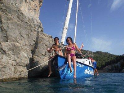 sailboat trip on Fuensanta reservoir 2 hrs