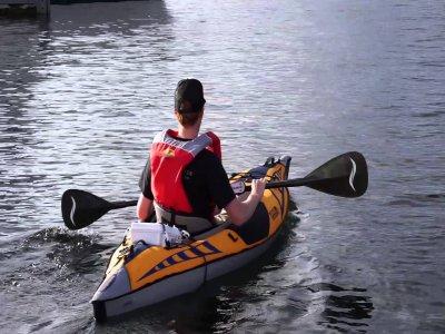 Individual kayak rental in Moraira 1 hour