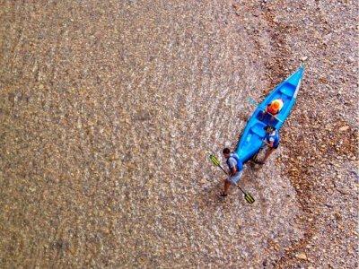 Kayaking in Sella, 14 kilometers