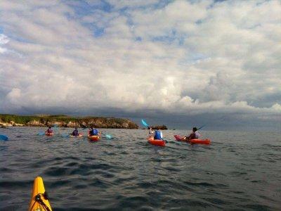 Kayak Surf course in Ribadesella