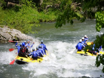 White water rafting in Cangas de Onís