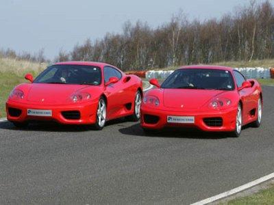 The Racing School Drive a Ferrari