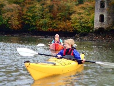 Half day family kayak trip