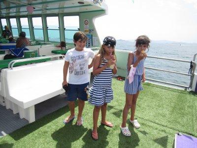 Celebrate a communion on a boat Mar Menor, 1-hr
