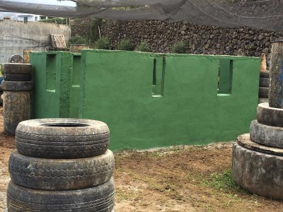 Paintball roud with 300 balls in Tenerife