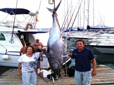 Big-Game Bluefin Tuna Fishing in Jávea