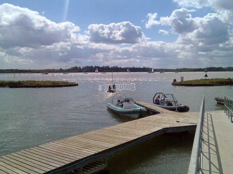 River Orwell from Suffolk Yacht Harbour