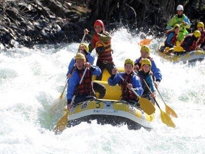 Rafting 1-night accommodation Sort TB