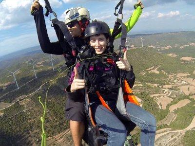 30 min paragliding in Igualada, Barcelona