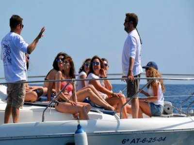Team building with boat trip in Jávea