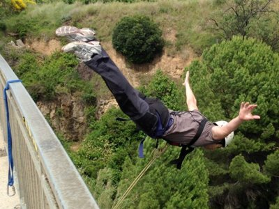 Bungee Jumping for Couples in S. S. d'Anoia