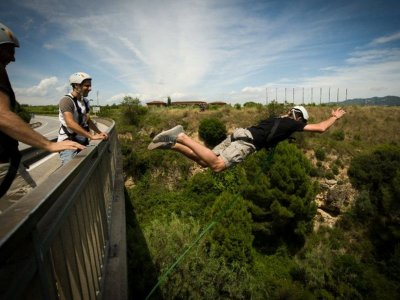 Bungee Jumping in Barcelona - 2 Jumps Each