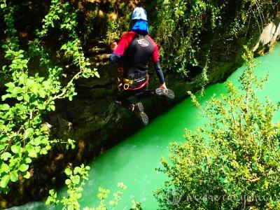 3h Viandico canyon descent with photos, easy level