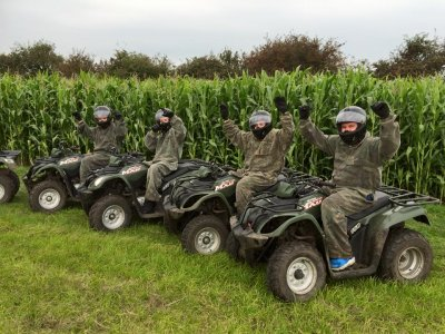 Liverpool Quad Biking Safari