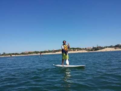 Stand Up Paddle Surfing Course in Huelva