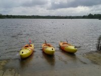 We offer a nice variety of canoes