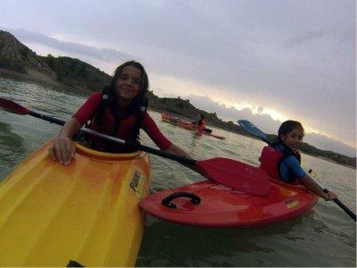 Kayaking, Almadenes Canyon
