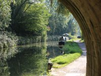 walk whilst watching the narrowboats passing.