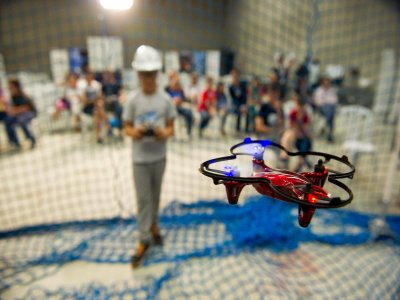 Urban Camp about drones, Bilbao
