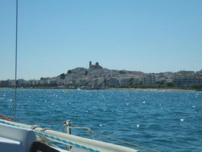 Sailboat ride with captain in Denia