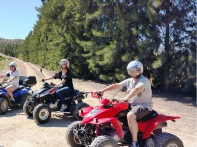 Quad bike tour around Mojácar, 1h