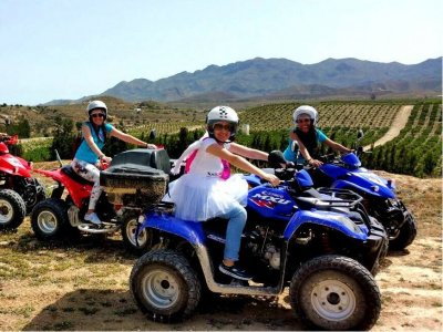 Quad bike trip, Sierra Cabrera, 2 hours