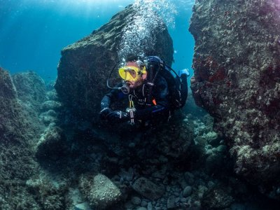 Diving immersion in Cabo de Gata material 3h