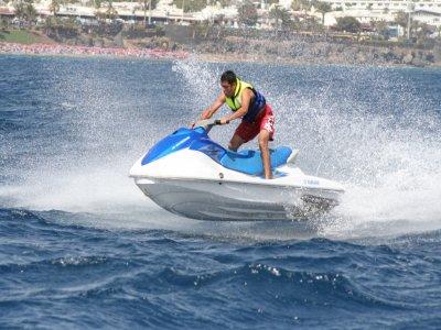 Jet-ski tour in Lanzarote for one 20min