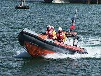 Rescue boat training
