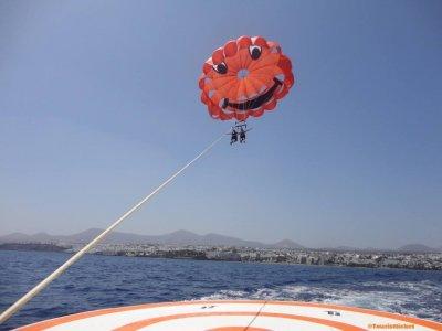 Parasailing in Lanzarote for 1 person 10min