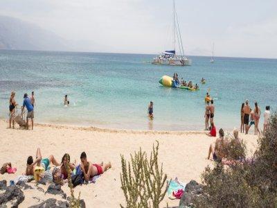 Catamaran trip in La Graciosa, adults