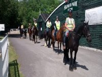 Hacking with Chobham Equestrian Centre
