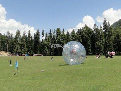 Kids Bubble Soccer+snack Colmenar