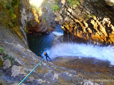 Canyoning at Furco canyon Level 2, 3h