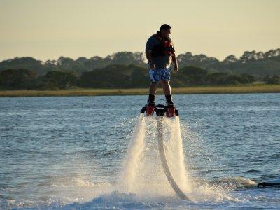 Flyboarding San Juan reservoir 20 minutes