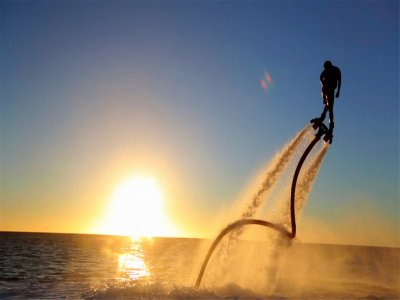 1h flyboard in San Juan reservoir, Madrid