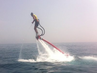 Flyboard 40 min and menu San Juan reservoir