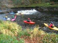 BCU Three Star White Water Kayak
