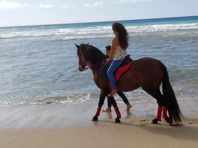 Horseback tour Baldaiao, Caion or Barrañán beach